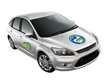 NRL Monster Decal - Parramatta Eels - Car Sticker 470mm