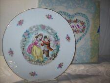 Vintage Royal Doulton Porcelain Valentine'S Day 1979 Plate