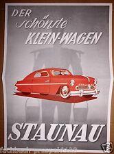 STAUNAU K400  PROSPEKT KLEINWAGEN 1950 HAMBURG SAMMLER OLDTIMER