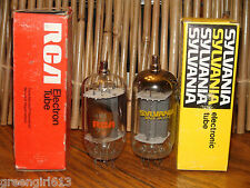 2 Vintage 6KM6 Vacuum Tubes Very Strong Results= 7600 7000