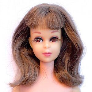 FRANCIE Barbie Doll Vintage Original 1965 Japan Eyelashes Brunette Bend Leg Nude
