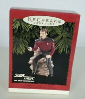 VINTAGE STAR TREK COMMANDER WILLIAM T. (WIL) RIKER KEEPSAKE ORNAMENT 1996
