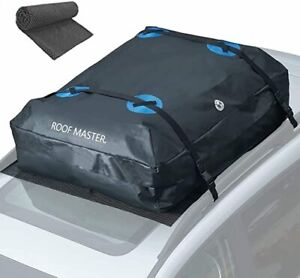 ROOFMASTER Rooftop Cargo Carrier for All Cars & Automobiles with or Without Roof