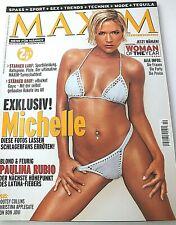 Maxim 10/ 2002, Oktober, Michelle, Paulina Rubio, Bootsy Collins, Jon Bon Jovi