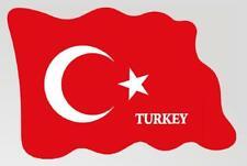 Turquía Imán Bandera Países Diseño de Epoxy Viajes Recuerdo, Nuevo