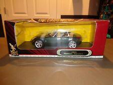 NEW Road Signature 2006 Pontiac Solstice Die Cast Car 1:18 06 Dark Green RARE