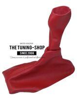 Gear Stick Gaiter For Porsche Boxster 986 1996-04 5 Speed Red Leather