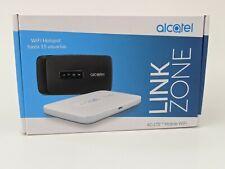 NEW Alcatel Link Zone Router 4G LTE - Global Unlocked - Wifi Hotspot