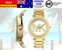 Michael Kors womens Parker Gold Tone Wrist Watch MK5784