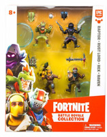 "Epic Games Fortnite Battle Royal Raptor-Rust Lord- Rex & Raven 2"" Figures"