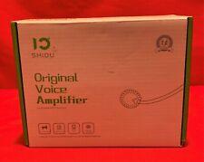 SHIDU Original Voice Amplifier Loud Speaker/mp3 Player/AUX