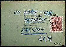 Polonia: BV a VEB fotocamera e cinema opere Dresda 1960 con Michel n. 1183