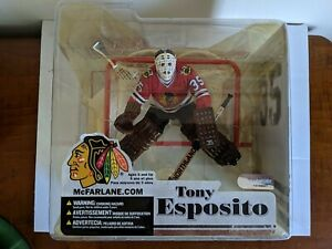 RARE 2006 MCFARLANE NHL LEGENDS SERIES 3 TONY ESPOSITO CHICAGO BLACKHAWKS FIGURE