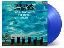 BLUES DIMENSION : B.D. Is Dead, LongLive B.D.(Ltd.Transparent Blue Vinyl) LP NEU