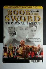 BOOK AND SWORD THE FINAL BATTLE MINI POSTER BACKER CARD (NOT A movie)