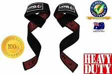 LIFTING STRAP GEL LIFTING STRAPS, EXTRA GRIP NO-SLIP PADDED WEIGHT LIFTING STRAP