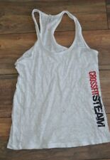 Crossfit Steam Tank Top Size Large Next Level Sleeveless Top Semi Sheer