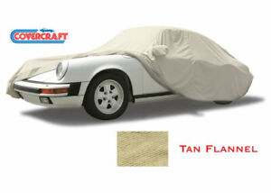 Covercraft TAN FLANNEL Indoor CAR COVER 2012 to 2020 Porsche 911 (991)