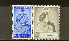 ANTIGUA  98 - 99  Beautiful  Mint  NEVER   Hinged  Set  SILVER WEDDING  VF  AG