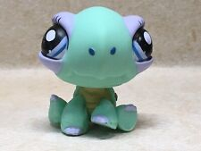 Littlest Pet Shop LPS #1388 Turtle With Blue Eyes Preowned