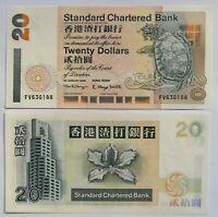 HONG KONG 20 dólares 2000, P-285c.3. Plancha UNC.