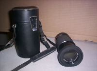 Super Albinar Multi-Coated Automatic Lenses w/case