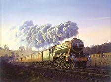 Flying Scotsman 4472 LNER Railway Engine Steam Locomotive Train Birthday Card