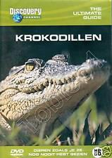 KROKODILLEN - DISCOVERY CHANNEL - DVD - NIEUW - SEALED