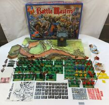 MB 1992 GAMES BATTLE MASTERS BOARD GAME 100% COMPLETE & GOOD CLEAN CONDITION