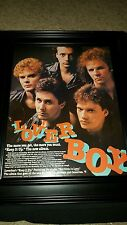 Loverboy Keep It Up Rare Original Promo Poster Ad Framed!