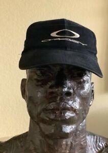 Vintage BLACK Oakley 1242 CAP Michael Jordan 1995 I'm Back.  Snapback Adjustable