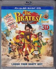 The Pirates Band of Misfits 3D/2D Blu ray/DVD Combo Pak