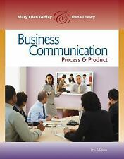 Business Communication: Process and Product (with meguffey.com Printed Access Ca