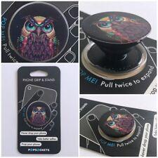 PopSockets Single Phone Grip PopSocket Universal Phone Holder 101081 OWL