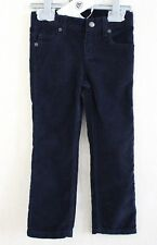 Neuf : Pantalon PETIT BATEAU 4 ans velours bleu marine coupe droite garçon