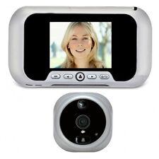 Spioncino Digitale ELETTRONICO Porta Eques R01PS  Display 2.8 NIGHT VISION