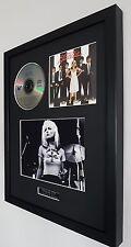 Blondie Parallel Lines-Framed Original CD- Plaque-Certificate-Debbie Harry