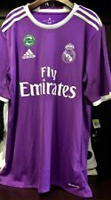 Real Madrid AWAY Jersey 2016-2017 Purple AI5158 - Adidas Men's