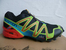 Salomon Speedcross 3 Trainers Low Shoes Sneakers Trainers Black/Green/Red New