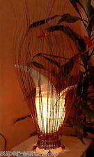 """Tischleuchte Tischlampe """"CITRA"""" Höhe ca. 80cm  Asia Design Bali Lampe Dekoobjekt"""