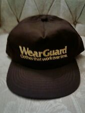 7eb0c9d740c Wearguard Hat SnapBack One Size Brown 100% Cotton BNWOTS FREE SHIPPING