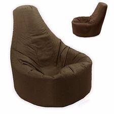 Large Bean Bag Gamer Recliner Outdoor and Indoor Adult Gaming XXL Brown - Beanba