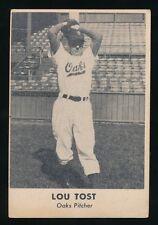 1949 Remar Bread (PCL) -LOUIS TOST (Oakland Oaks) -SP -Braves, Pirates