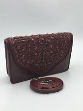 Brighton Nwt Anju Leather Beaded Crossbody Small Pouch Purse