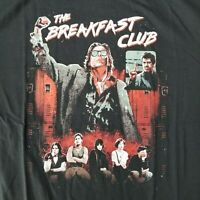 The Breakfast Club Men's XL T-Shirt Licensed 1985 Movie John Hughes Retro