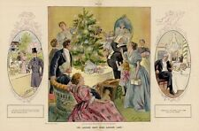 CHRISTMAS BACHELOR FREE LIFE AND JOYS OF MARRIAGE HE LAUGHS BEST WHO LAUGHS LAST