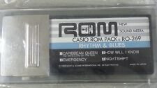 Casio ROM PACK RO-269 Rhythm & Blues song cartridge Vintage, Nuevo sin estrenar