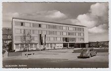WAIBLINGEN Rathaus mit Volkswagen VW Brezel-Käfer * Foto-AK um 1950