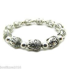 Fashion New in tibet style tibetan silver Buddha Head bracelet jewelry