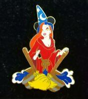 Disney Shopping JESSICA Rabbit Costume SORCERER Apprentice MICKEY LE300 Pin